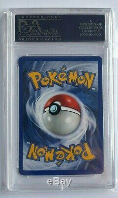 Psa 8 1st Edition Shadowless Charizard Thick Stamp Base Set 4/102 9 10 Nm-mint