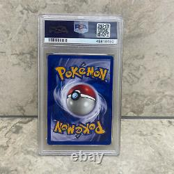RARE Pokemon Promo SHADOWLESS Pikachu RED CHEEKS WITH GOLD E3 Stamp PSA 9 MINT