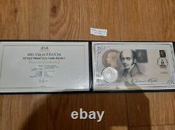 Royal Mint Una And Lion 2oz 999 Silver Limited Edition Penny Black Stamp