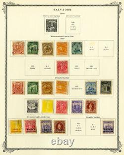 Salvador 1800s to 1950s Strong Mint & Used Stamp Collection