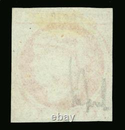 Spanish PHILIPPINES 1855 Queen Isabella II 5c pale red Sc# 6 MINT SCARCE