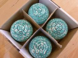 Thomas Taylor Ace Size 0 Bowls Mint/White WB26 Stamp Indoor or Outdoor S/hand
