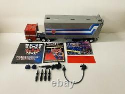 Transformers G1 Vintage Optimus Prime Complete T4 Stamp Nice Joints Near Mint