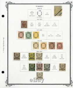 Turkey Loaded 1800s to 1940 Mint & Used Stamp Collection
