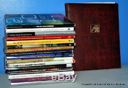 US Commemorative Mint Stamp Year Set Collection + Hardcover USPS Year Book LOT