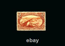 US Stamp Mint OG & Hinged, Super b S#293 LH, Rare finest known centering withjumbo