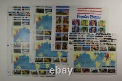 United States Postage Lot $385.00 Face Value (lot 2178) 700 55 Cent Equivalent