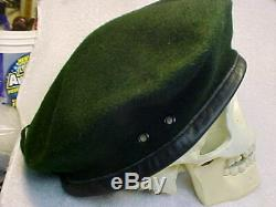 Veitnam Era Special Forces Green Beret, MINT Condition with Issue Stamp inside