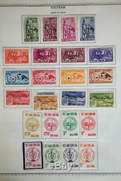 Vietnam Mint 1950's to 1970's Stamp Collection