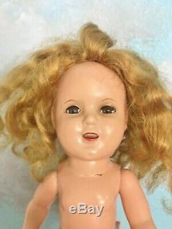 Vintage 1934 Prototype Stamp RARE Ideal Shirley Temple 24 Pc LOT Baby Doll Compo