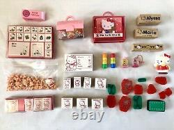 Vintage Sanrio Hello Kitty My Melody Stamp Lot Huge Rare